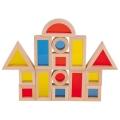 Ehitusklotsid värviliste akendega