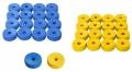 Koroona/Novuse nupud(sinine, kollane)