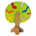 """Kujundite mäng """"Lindude puu"""" (hele)"""