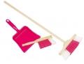 Laste koristuskomplekt (roosa)