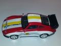Mudelauto sportauto (punane)