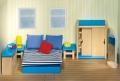 Nukumaja mööbel Magamistuba (sinine)