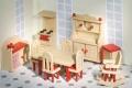 Nukumaja mööbel Köök (punane)
