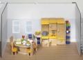 Nukumaja mööbel Köök (kollane)