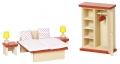 """Nukumaja mööbel """"Magamistuba"""" (punane, täpiline)"""