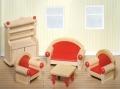 Nukumaja mööbel Elutuba (punane)