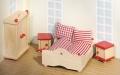"""Nukumaja mööbel """"Magamistuba"""" (punane)"""