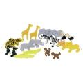 Puidust Aafrika loomad