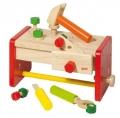 Puidust tööpink-tööriistakast