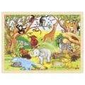 """Pusle """"Aafrika loomad"""" (48-osaline)"""