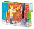 """Puzzlekuubikud """"Hobused"""""""