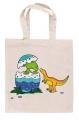 """Riidest kott """"Dinosauruse muna"""" (väike)"""