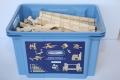 Stekuworld Blue puidust konstruktor (260-osaline)