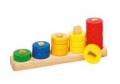 Värvi ja kujundi sorteerimismäng Õpime arvutama