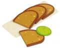 Viilutatud leib alusel